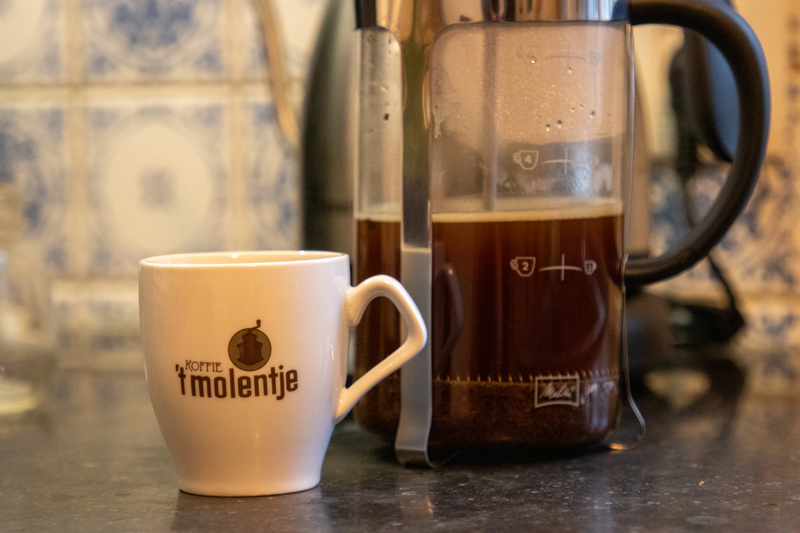 French press: genieten